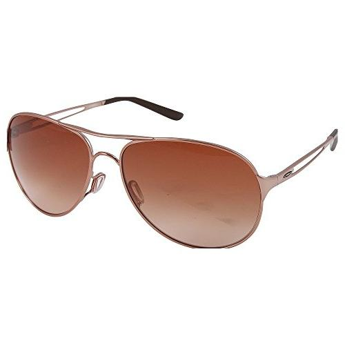 Oakley Aviator Sunglasses,Rose Gold Gradient Lens,One