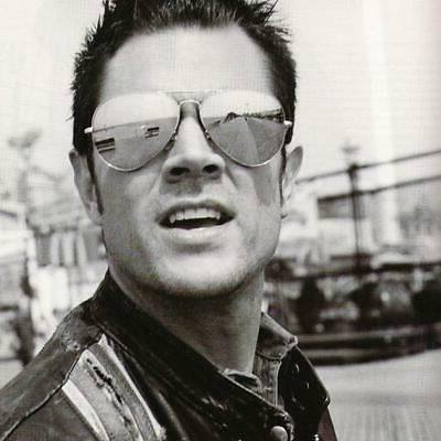 celebrity johnny knoxville jackass mirrored lens metal