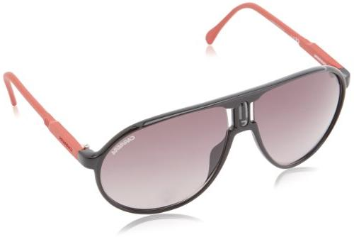 Carrera Champrus Aviator Sunglasses,Shiny Black,62 mm