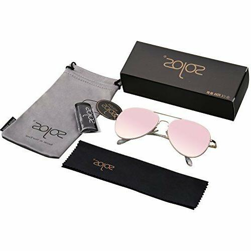 Frame Sunglasses with Spring Hinges