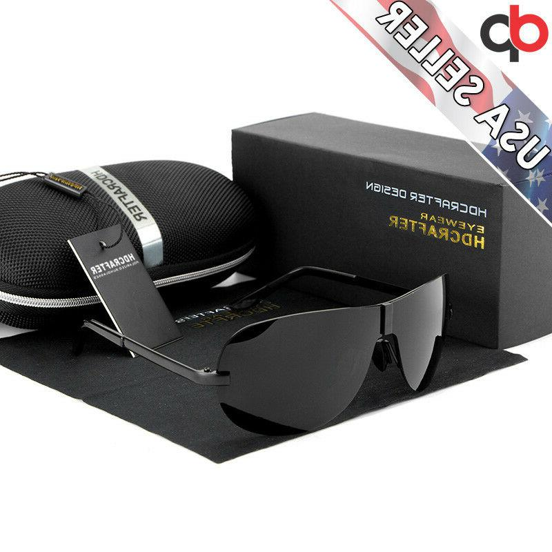 clearance sale men s rimless polarized aviator