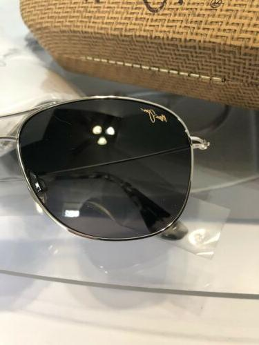 ☀️ House Silver Aviator Frame Polarized Case Free