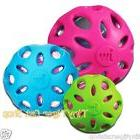 JW Pet Crackle Heads Ball Dog Toy small medium large color c