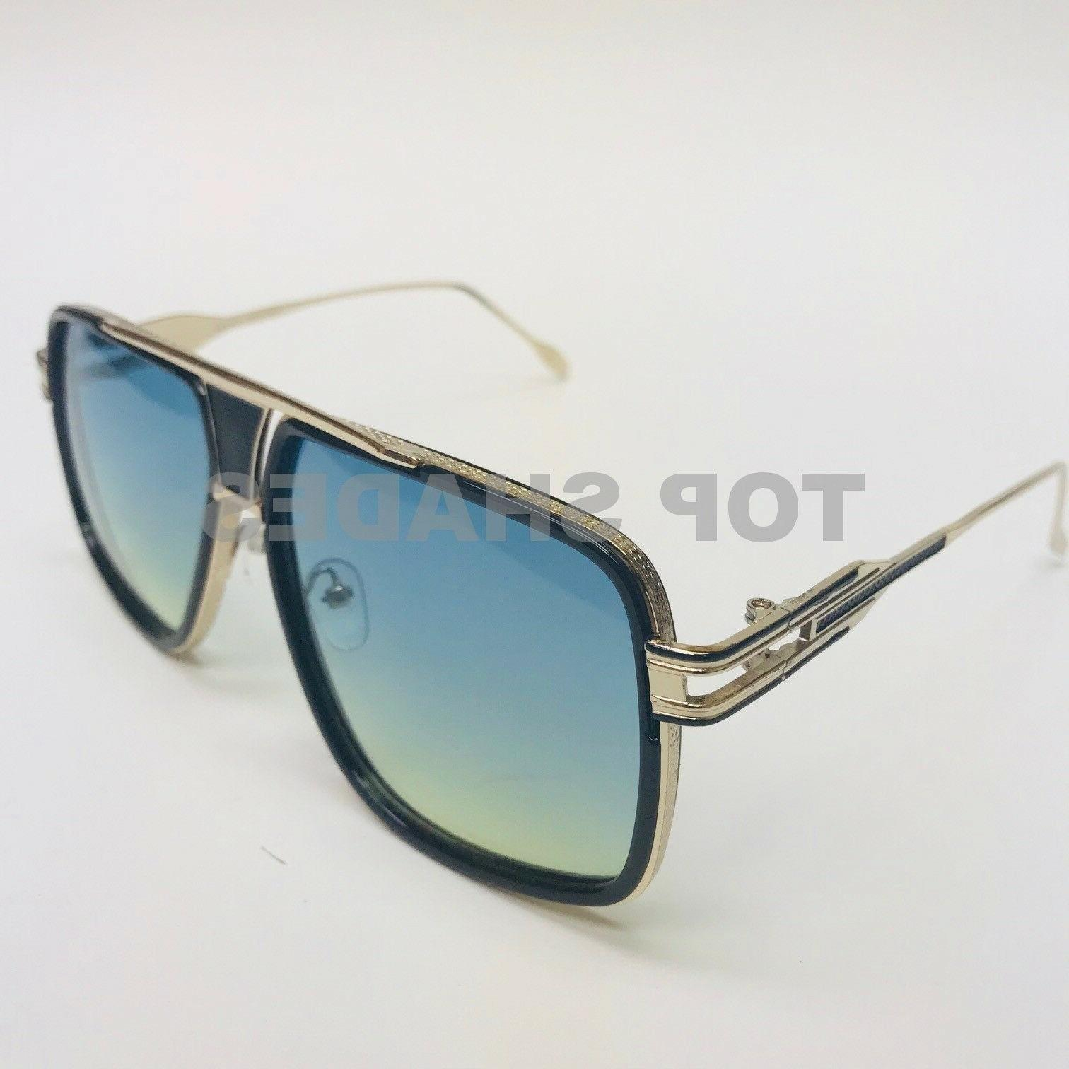 Designer Sunglasses Metal Frame Men