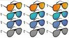 Edge I-Wear Wholesale 12-Pack Men Aviator Flat Top Sunglasse