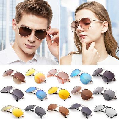 Fashion Mens Aviator Polarized Sunglasses Eyewear Case