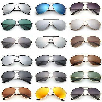 fashion women mens aviator polarized sunglasses driving