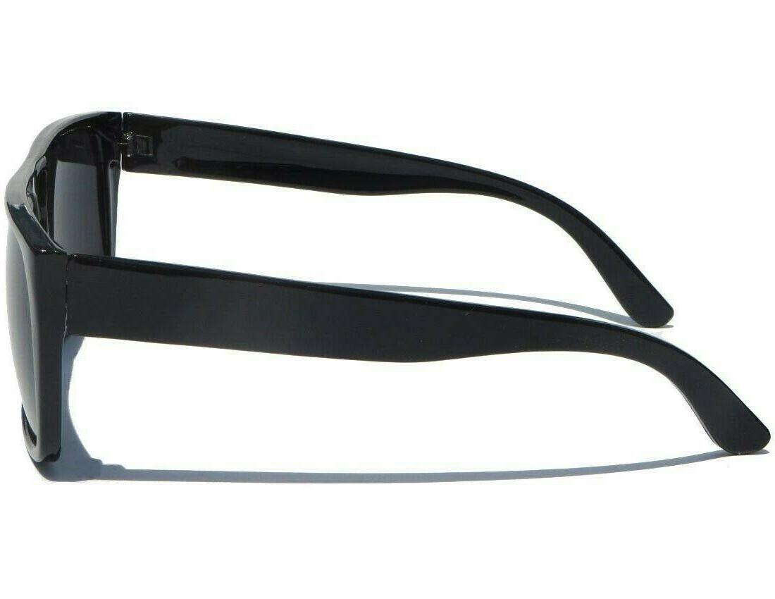 FLAT TOP Retro Square Frame Mens Womens Aviator