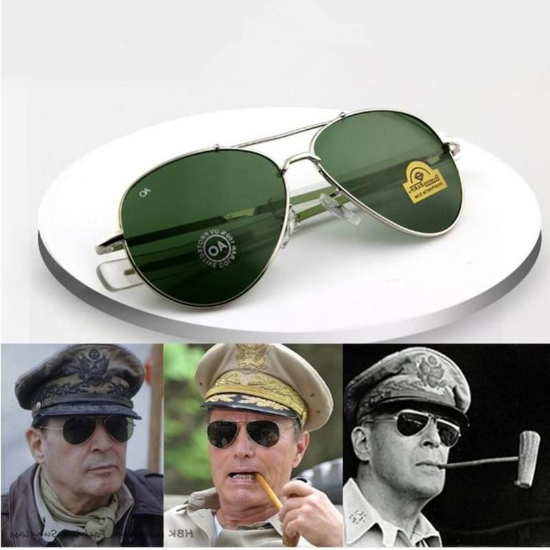 <font><b>Aviation</b></font> <font><b>Sunglasses</b></font> Optical AO pilot glass Oculos sol