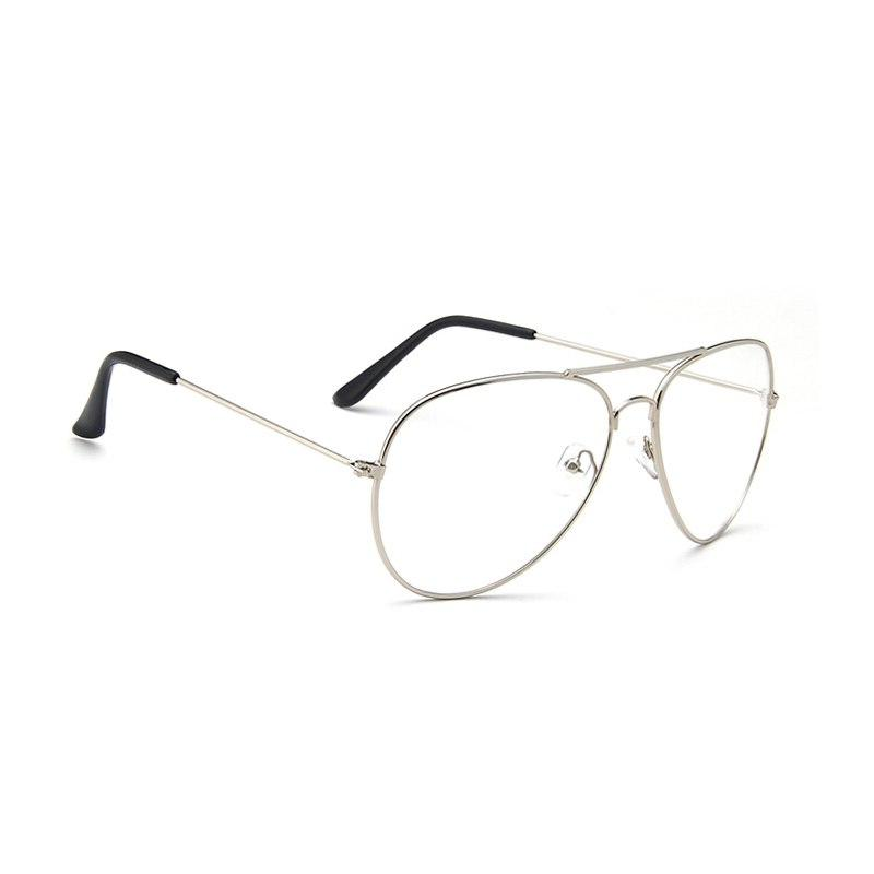 <font><b>Aviation</b></font> Metal Frame Round Glasses Women Pilot Style Glasses Classic