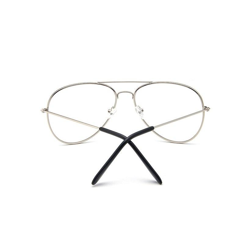 <font><b>Aviation</b></font> Frame Round Vintage Glasses Women Pilot Style Glasses Classic Optics Design