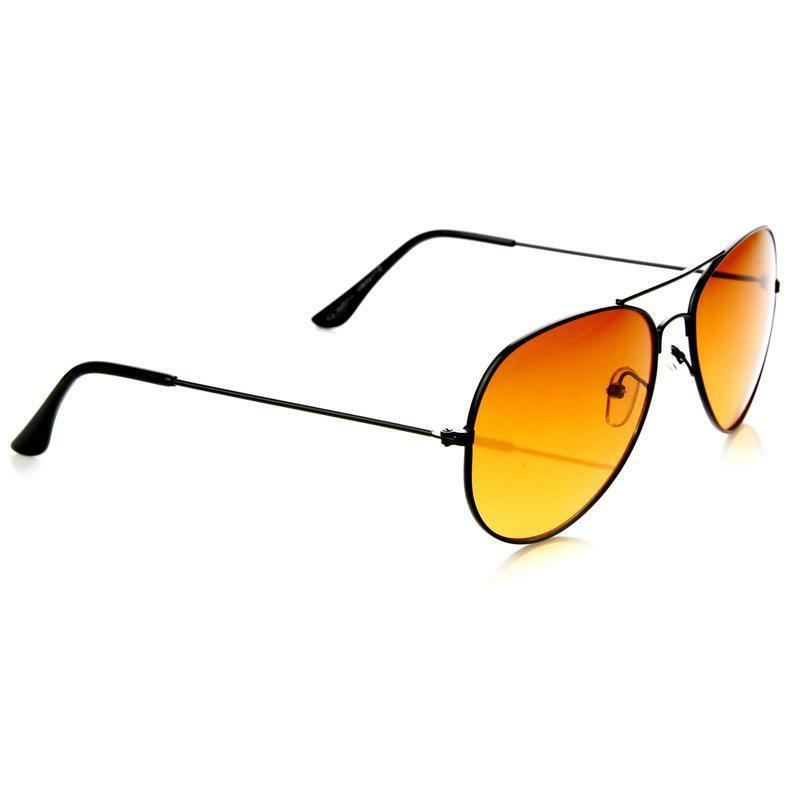 Hd Aviator Night Amber Anti