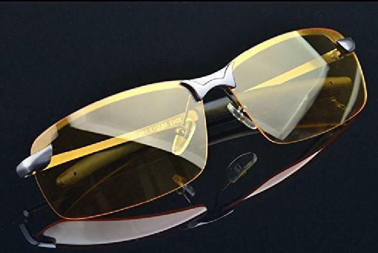 Hd Night Vision Glasses Driving Aviator Sunglasses New Uv400