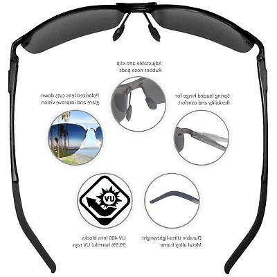 J+S Ultra Rimless Sunglasses, 100% UV pro...