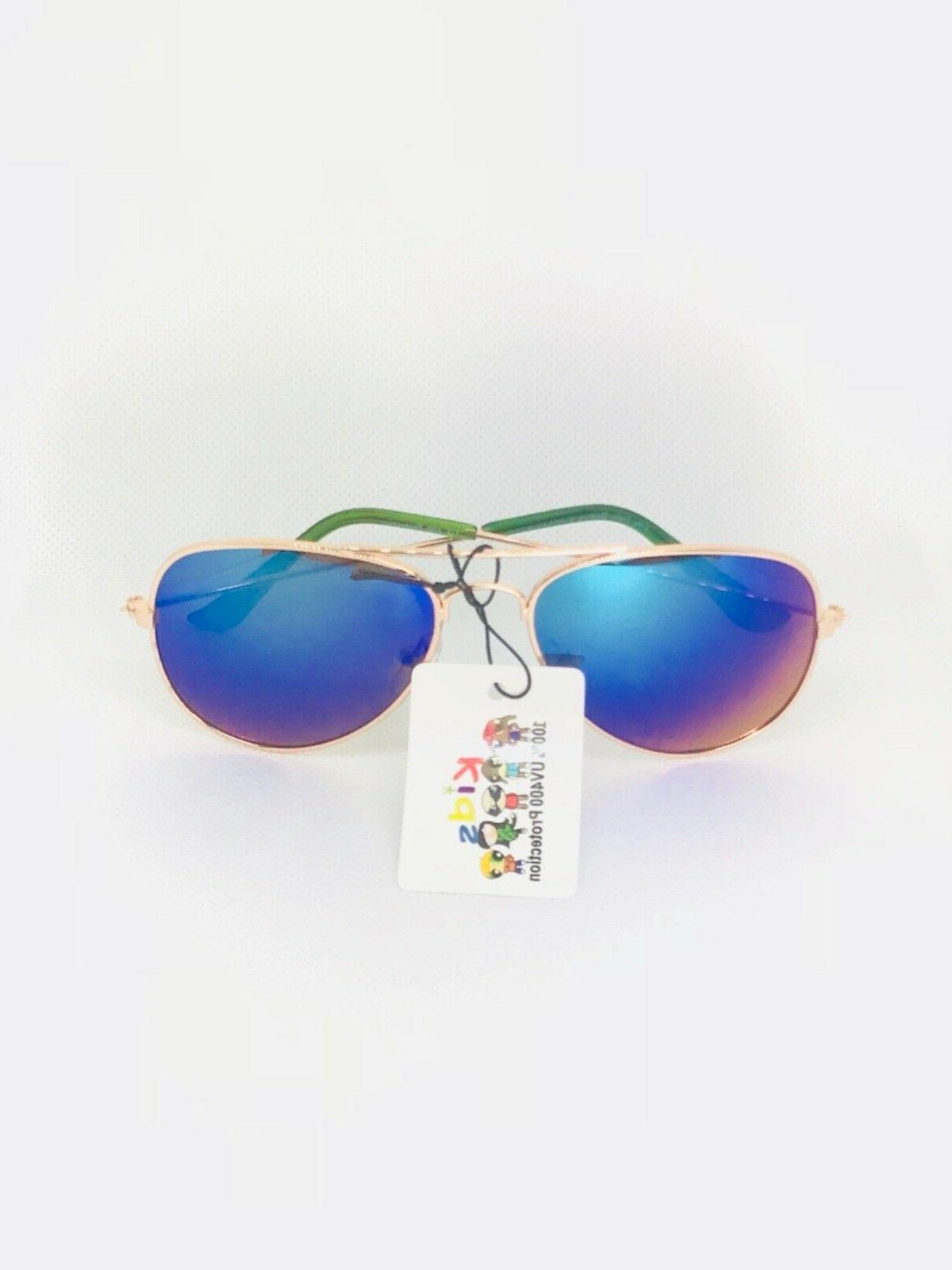 KIDS junior size AVIATOR sunglasses Children's