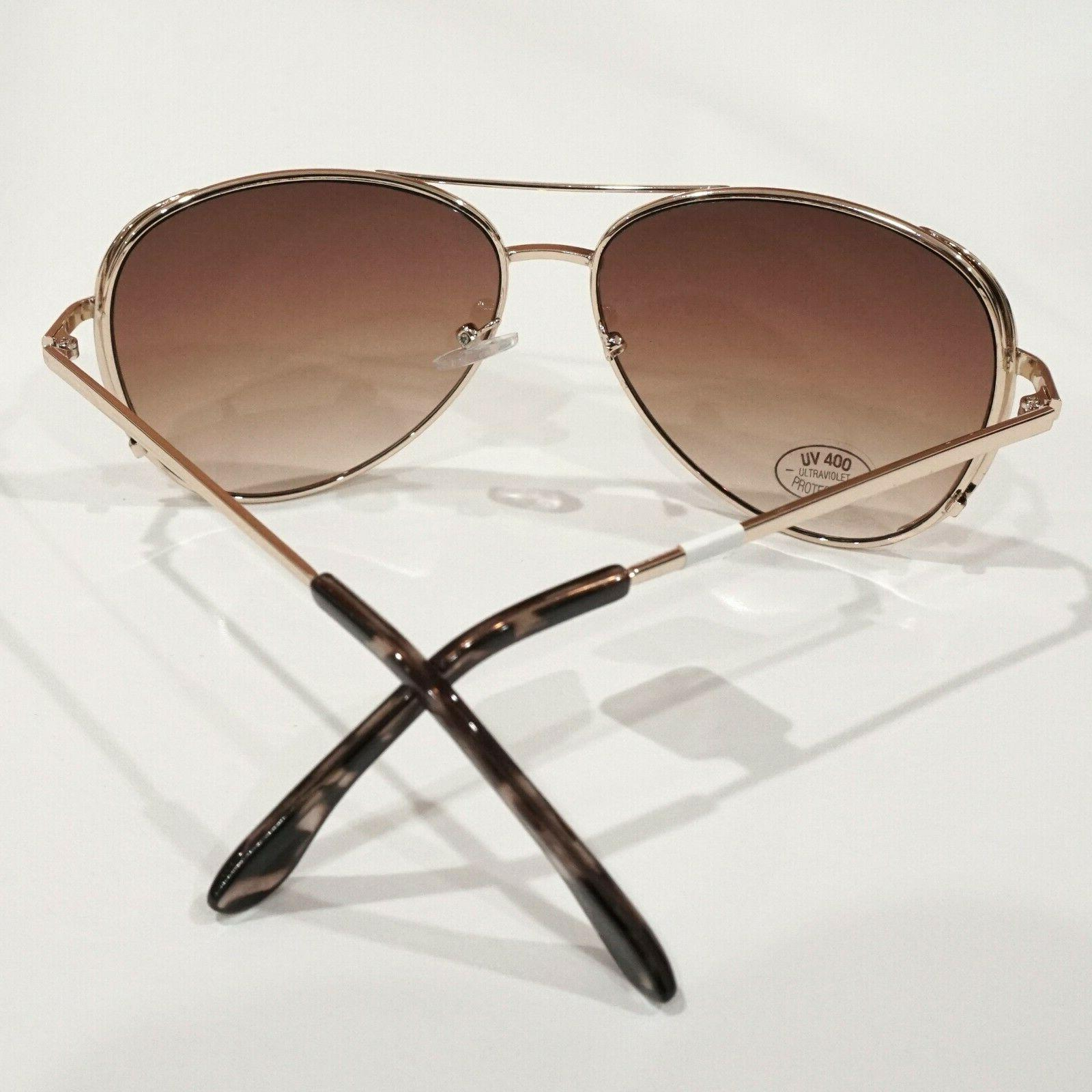 LOFT Metal Gradient Brown Aviator