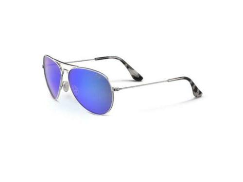 Maui Aviator Sunglass MJ Blue Lens