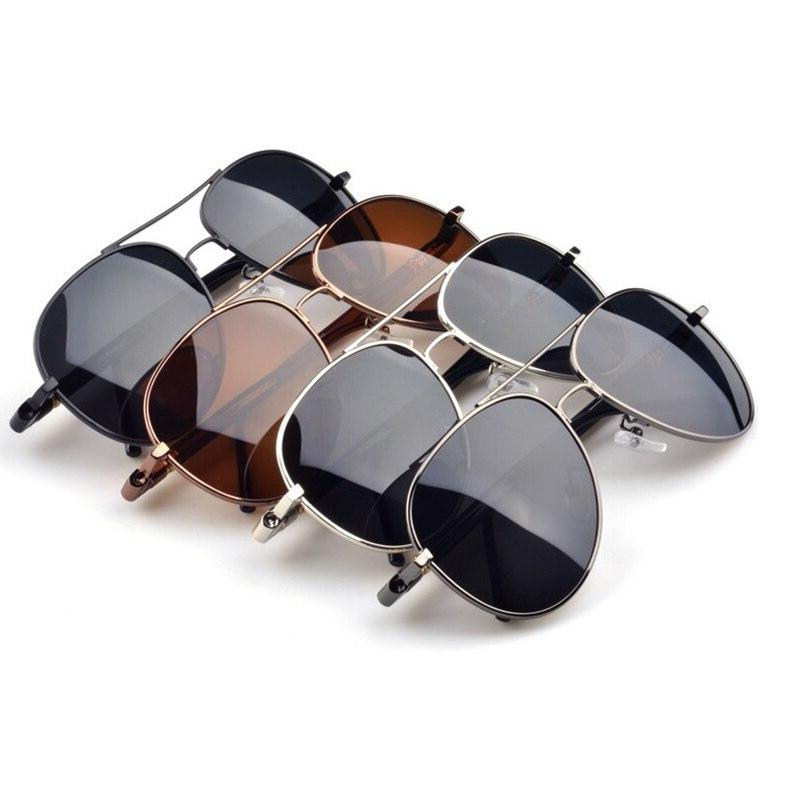 Mens Retro Driving Metal Eyeglasses Glasses Women Spring Hinge UV400