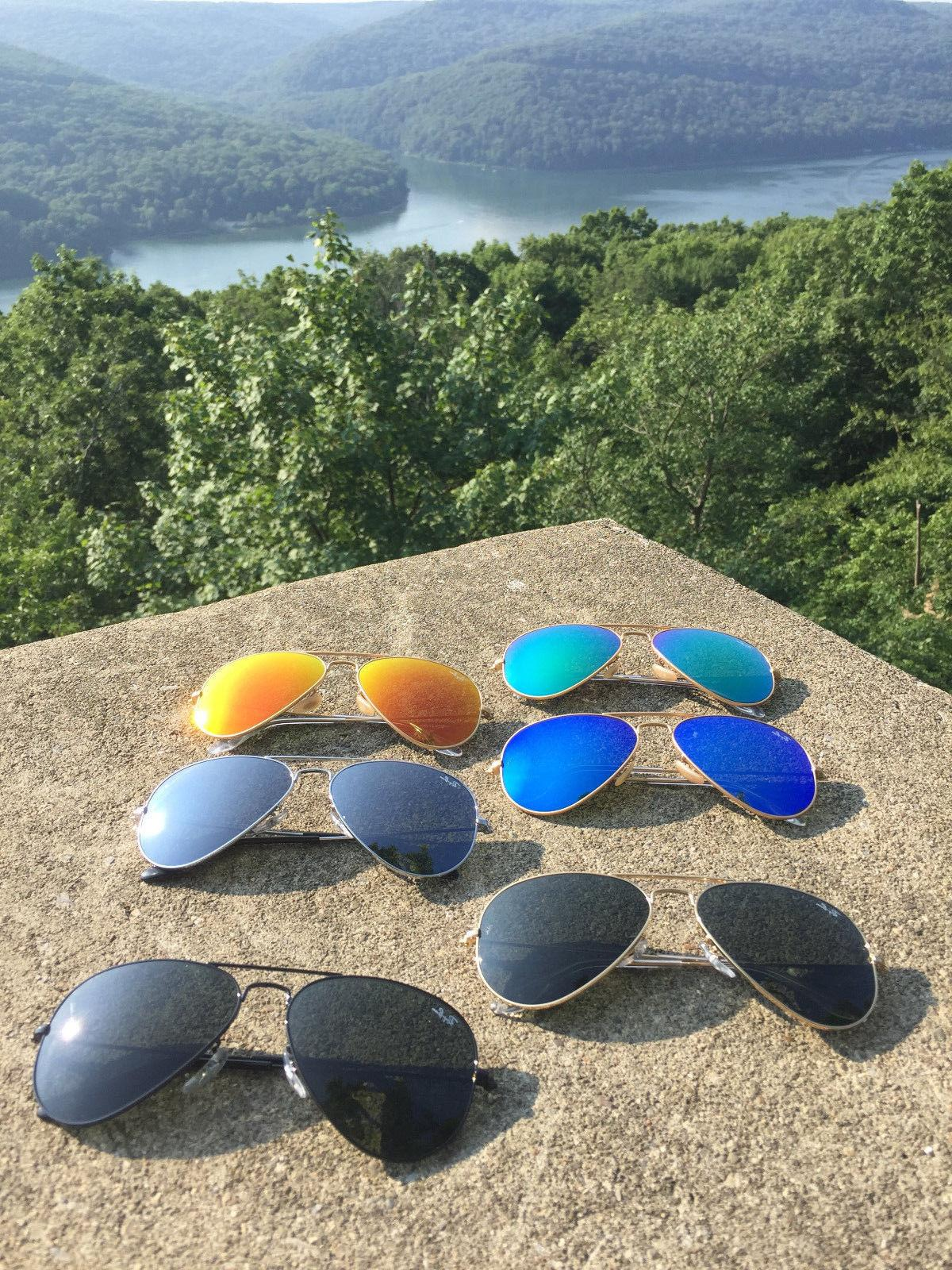 New Authentic Aviator 58mm Sunglasses