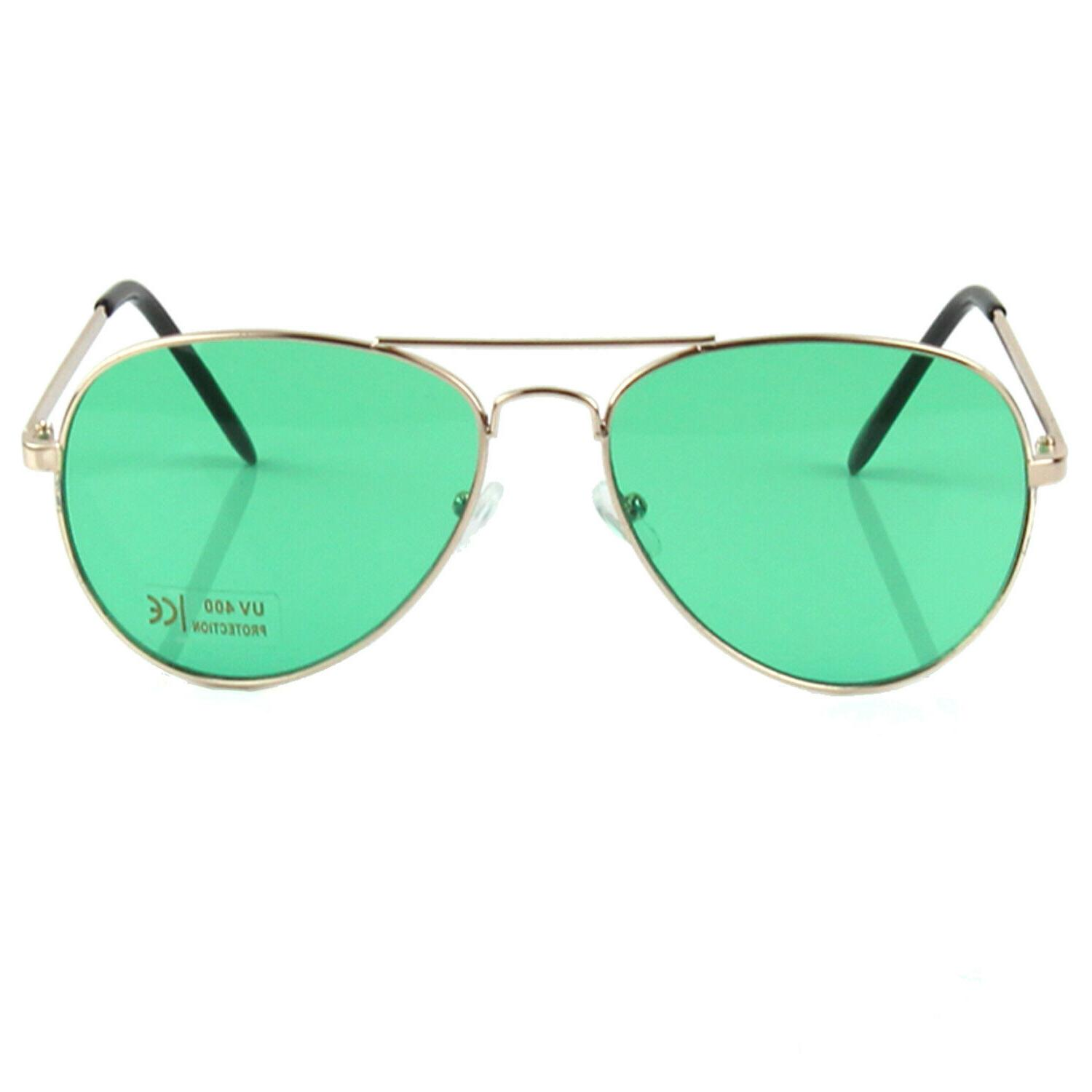 New Sunglasses Frame Gold Light Pilot