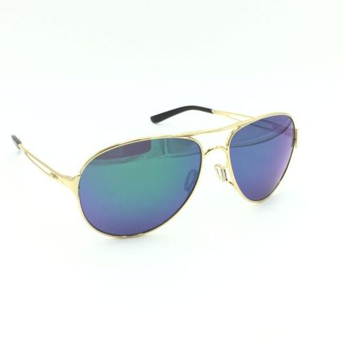 new caveat oo4054 15 aviator polished gold