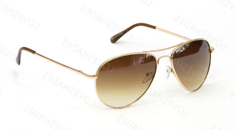 New Classic Aviator Fashion Sunglasses For Men's Women's Ret