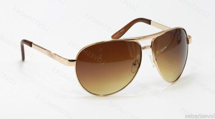 New Classic Retro Aviator Mens Sunglasses Shades Fashion Gol