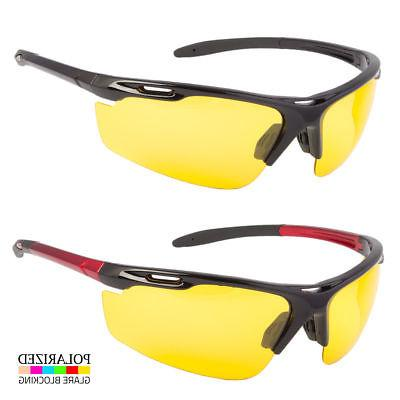 new hd night vision polarized glasses driving