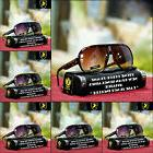 New Khan Two Tone Color Clear Frame Fashion Sports Aviator S