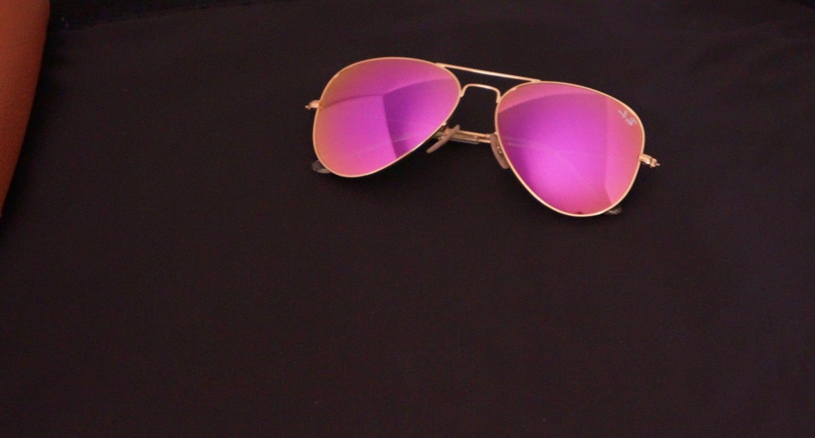 RB3025 Matte Gold frame/Cyclamen