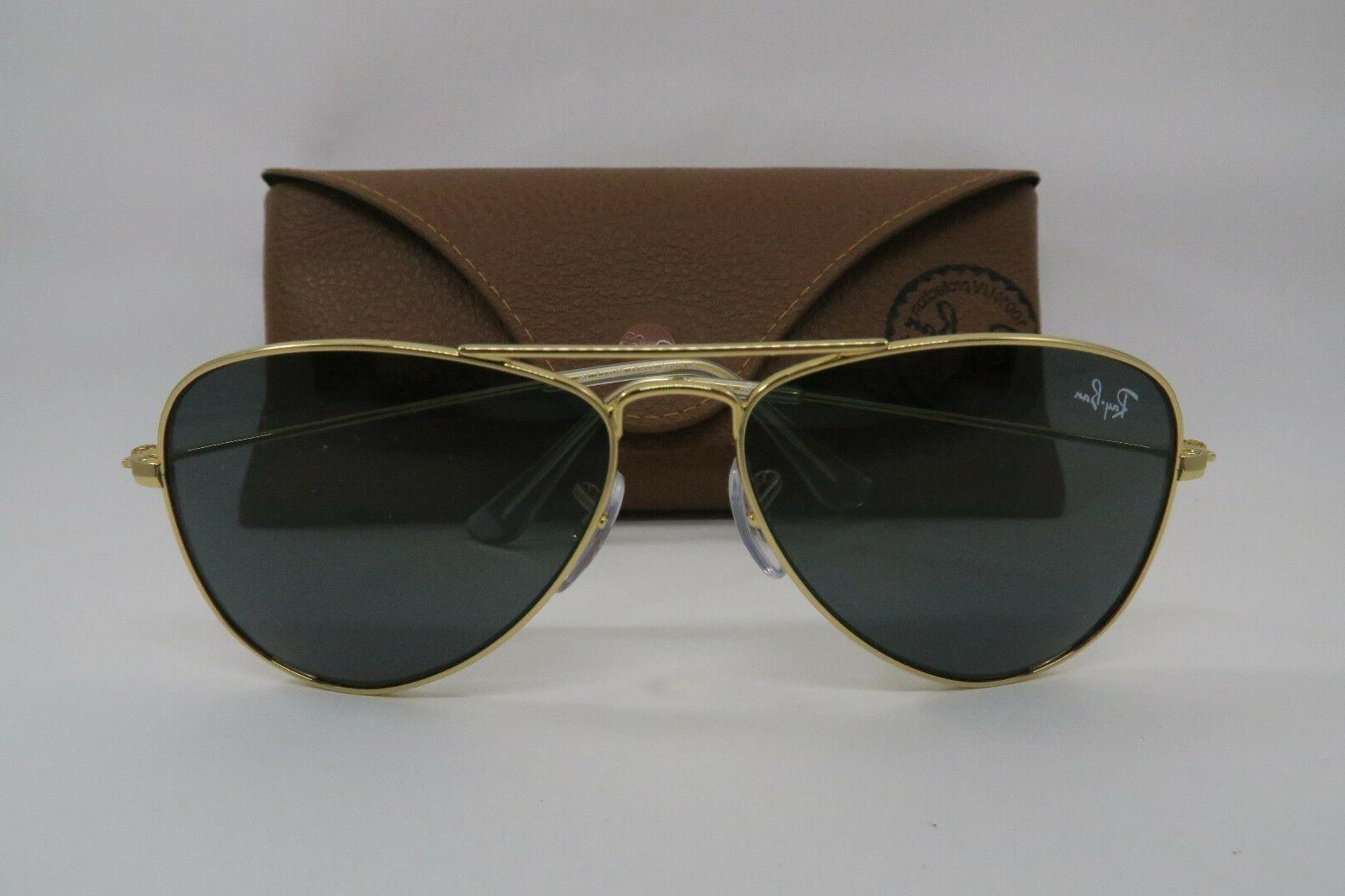 dc672e6d51 New Ray Ban Juniors KIDS RJ 9506 S 223 71 Gold Aviator Sungl