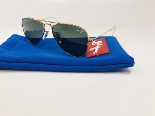 New Ray Ban Juniors KIDS RJ 9506 S 223/71 Gold Aviator Sungl