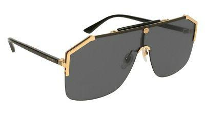 da7fc9174f5 NEW Gucci Sensual Romantic GG 0291S Sunglasses 001 Gold 100%