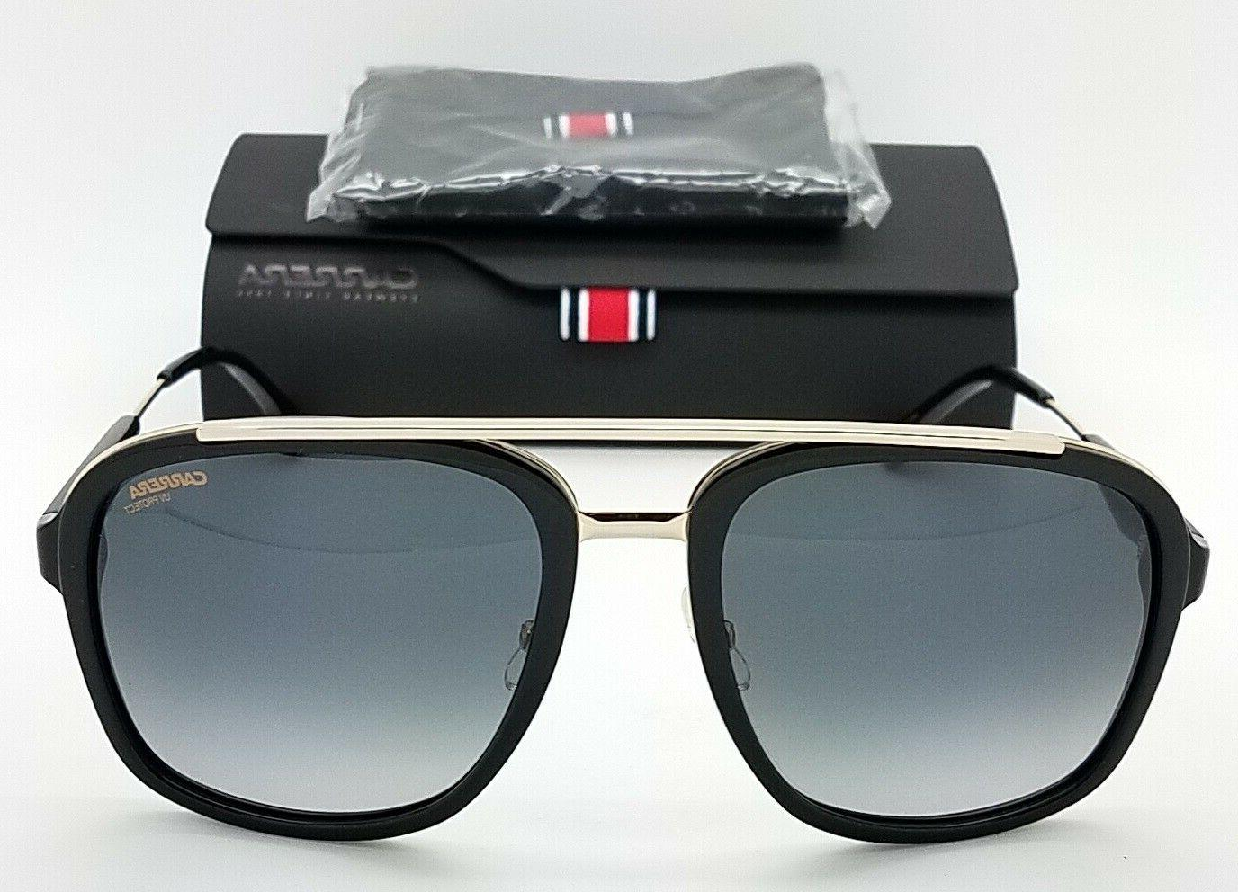 NEW Square Aviator Black 133S 0RHL AUTHENTIC
