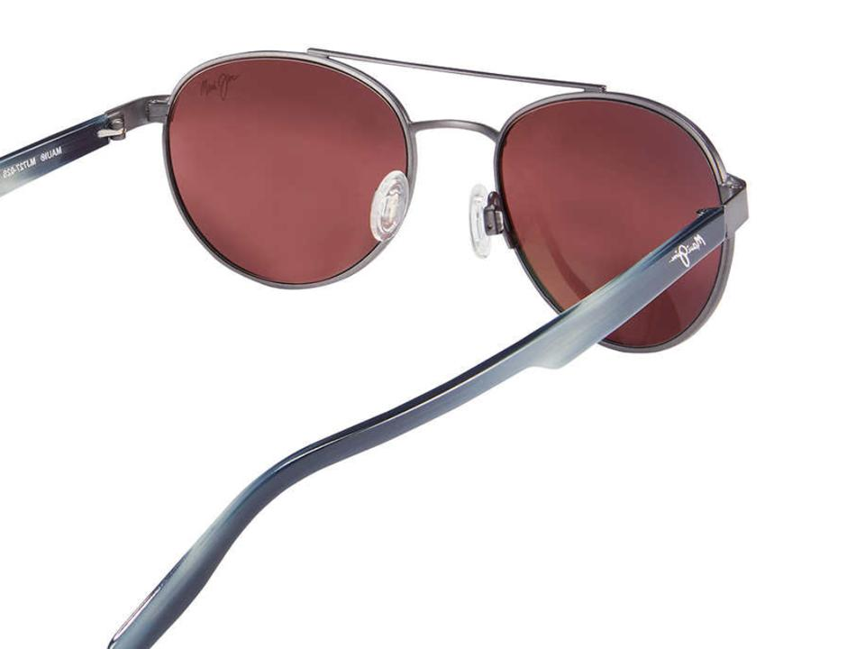 NEW* COUNTRY Gunmetal POLARIZED ROSE Sunglass