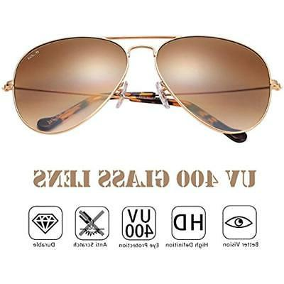 O-LET Fishing Apparel Brown Aviator Sunglasses For Kid With