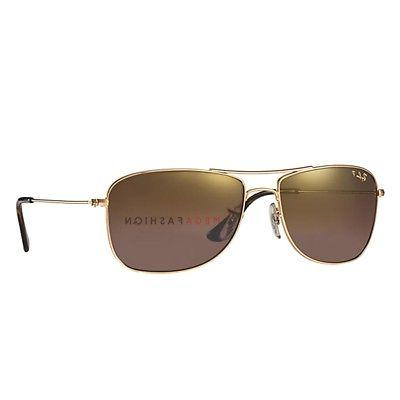 93ad142ff5 Ray-Ban Polarized Sunglasses RB 3543 Metal Iridium Aviator