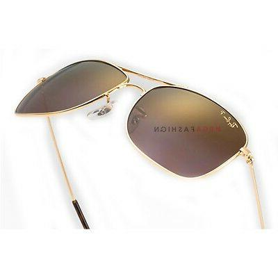16c7a89d5b Ray-Ban RB 3543 Metal Iridium Shiny 140. Ray-Ban Polarized Sunglasses 3543  Iridium Aviator Shiny Gold 59