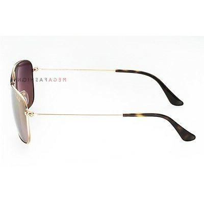 595e66ee47 ... RB 3543 Metal Iridium Shiny 140. Ray-Ban Polarized Sunglasses 3543  Iridium Aviator Shiny Gold 59