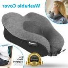Memory Foam U Shaped Travel Pillow Neck Support Head Rest Ca