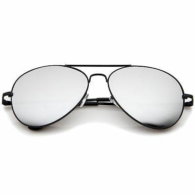 Premium Mirrored Metal Aviator