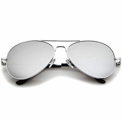 Premium Military Metal Aviator Sunglasses