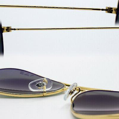 Ray-Ban aviator for green polarized lens RB3025