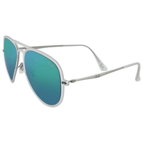 Ray-Ban Aviator Light Ray II RB4211 Sunglasses Matte Clear /
