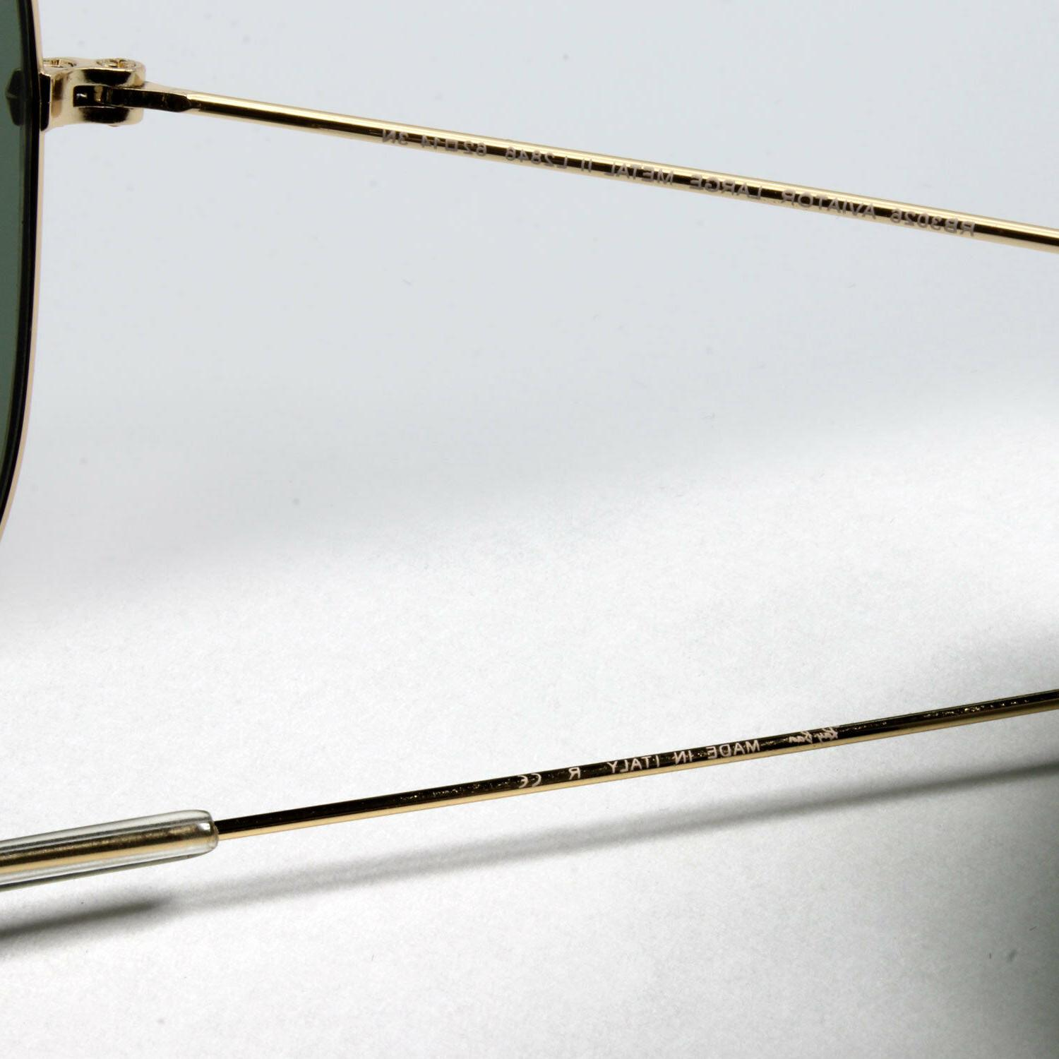 Ray-Ban new sunglasses for green gold LARGE