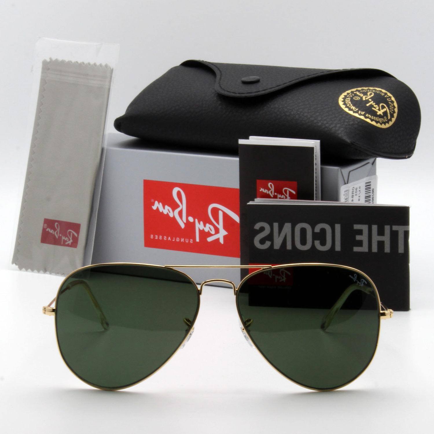 Ray-Ban new for men, classic green / LARGE