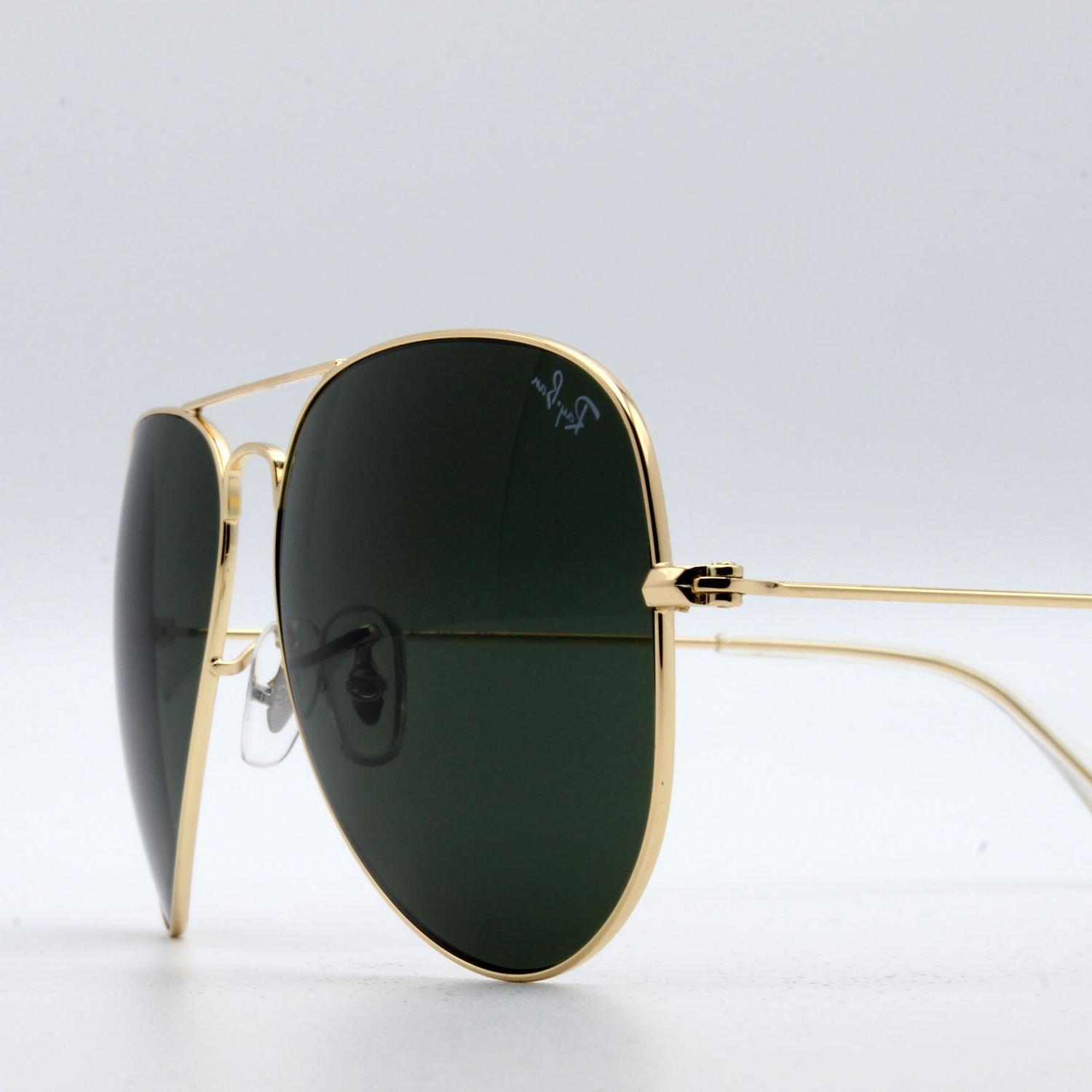 Ray-Ban sunglasses for men, women green gold