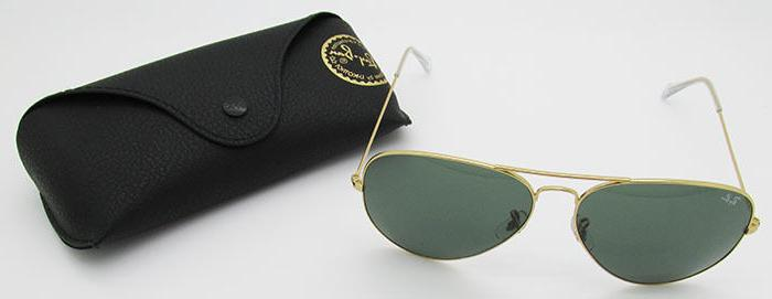 Ray Ban RB 3026 L2846 G15 Green Large 62mm