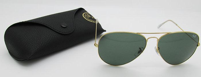 ray ban aviator rb 3026 l2846 gold