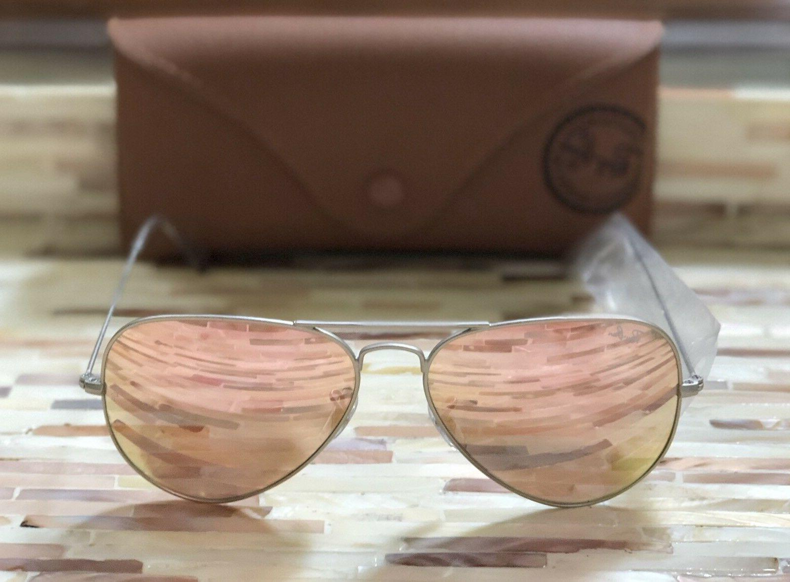 Ray-Ban Aviator RB3025 019/Z2 Silver Frame/Copper Pink